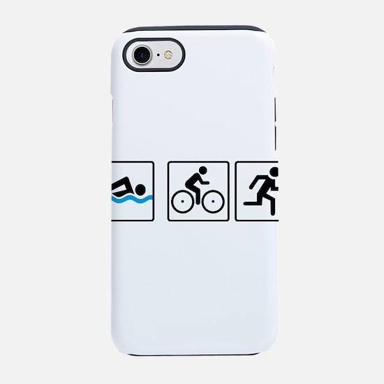 triathlon iPhone 8/7 Tough Case
