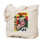 1st Appearance Green Lama Tote Bag