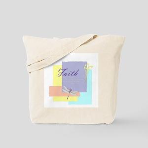 Faith dragonfly Tote Bag