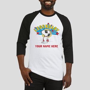 Snoopy Legendary Personalizable Baseball Jersey