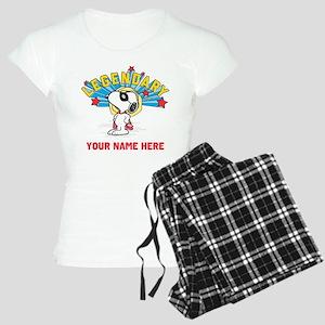Snoopy Legendary Personaliz Women's Light Pajamas