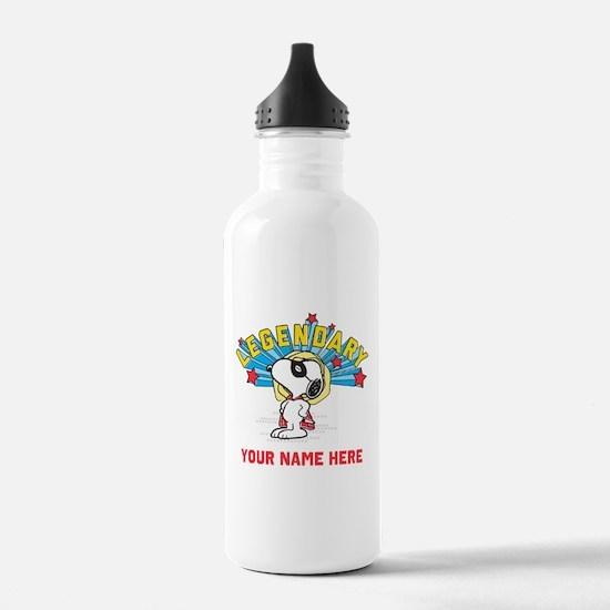 Snoopy Legendary Perso Water Bottle