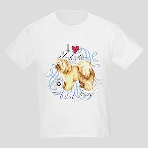 Tibetan Terrier Kids Light T-Shirt