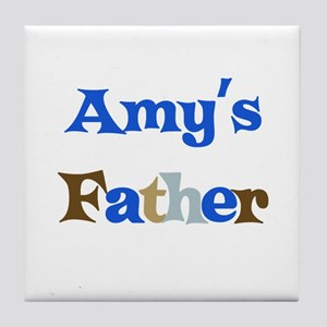Amy's Father Tile Coaster
