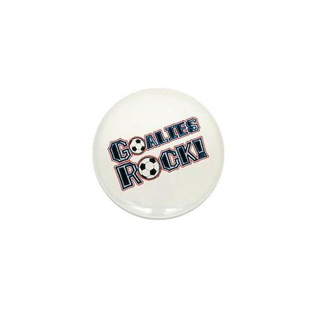 Goalies Rock! Mini Button (10 pack)