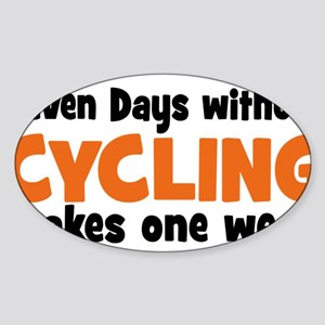 cycling Sticker