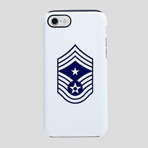 USAF: CCM E-9 (White) iPhone 8/7 Tough Case