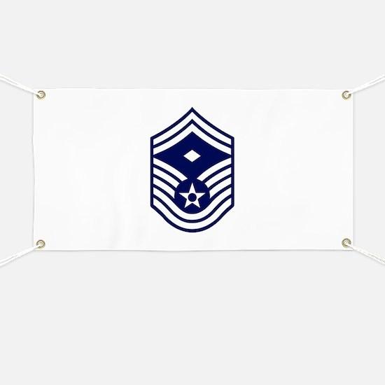 USAF: SMSgt E-8 (White) Banner