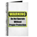Do Not Operate Warning Journal