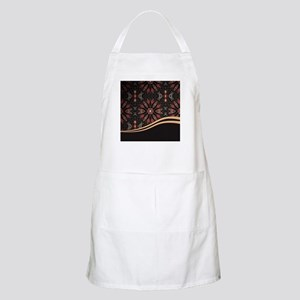 Abstract Floral Light Apron