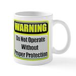 Do Not Operate Warning Coffee Mug