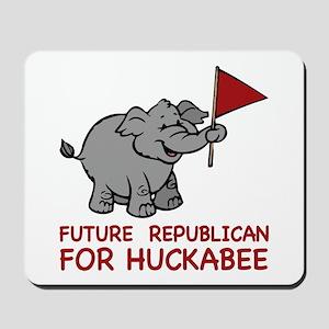 Future Republican for Huckabee Mousepad