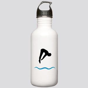 springboard diving Stainless Water Bottle 1.0L