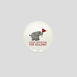 Future Republican for Giuliani Mini Button