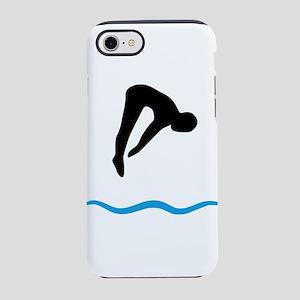 springboard diving iPhone 8/7 Tough Case