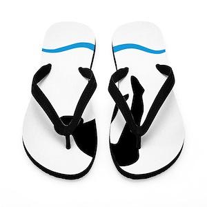 66e23cdd2b78c2 Dive Flip Flops - CafePress