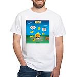 Underwater Campfire White T-Shirt