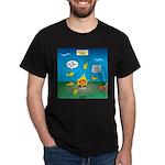 Underwater Campfire Dark T-Shirt