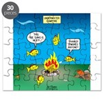 Underwater Campfire Puzzle