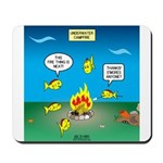Underwater Campfire Mousepad