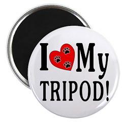 I Love My Tripod! Magnet