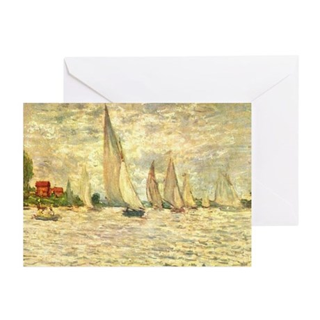 Regetta in Argenteuil Greeting Cards (Pk of 20)