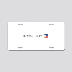 Quezon City Aluminum License Plate