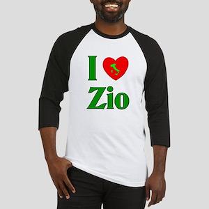 I Love (heart) Zio Baseball Jersey