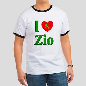 I Love (heart) Zio Ringer T