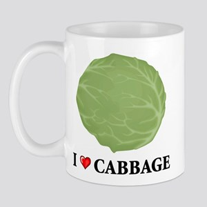 I Love Cabbage Mug