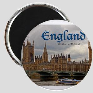 England - Big Ben And Parliament s Magnets