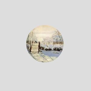 Magpie by Monet Mini Button