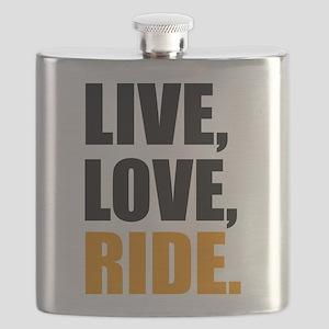 live love ride Flask