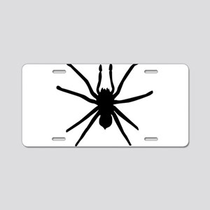 Spider Aluminum License Plate
