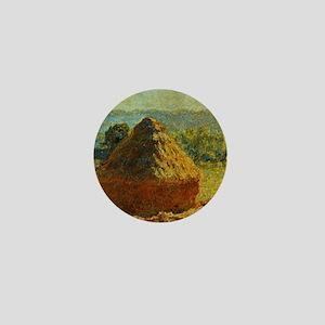 Haystacks by Monet Mini Button