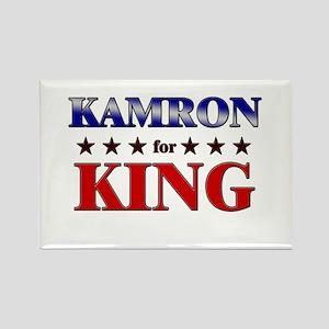 KAMRON for king Rectangle Magnet
