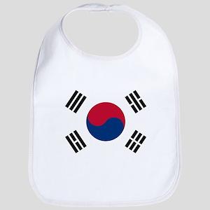 south korea flag Baby Bib