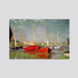 Argenteuil by Monet Rectangle Magnet