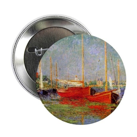"Argenteuil by Monet 2.25"" Button"