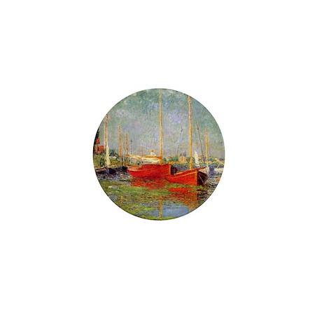 Argenteuil by Monet Mini Button