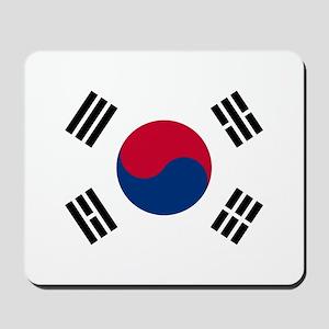 south korea flag Mousepad