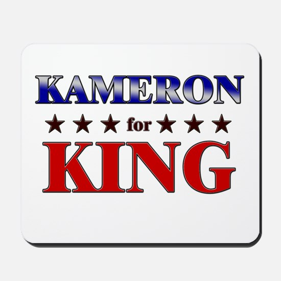 KAMERON for king Mousepad