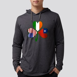 Shamrock of China Taiwan Long Sleeve T-Shirt