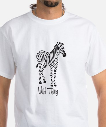 Wild Thing Zebra T-Shirt