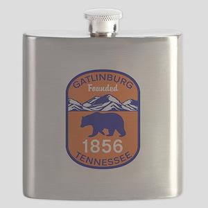 Gatlinburg Tennessee Great Smoky Mountains Flask