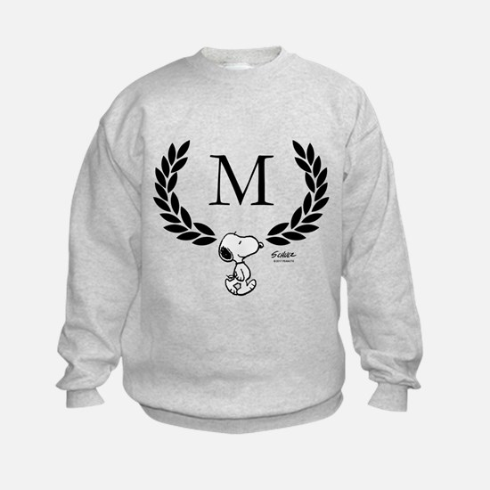 Snoopy Monogram Sweatshirt