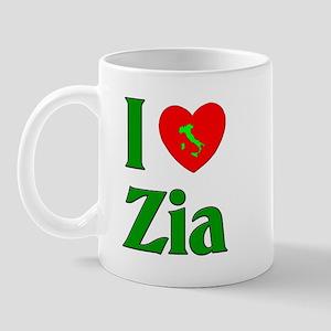 I (heart) Love Zia Mug