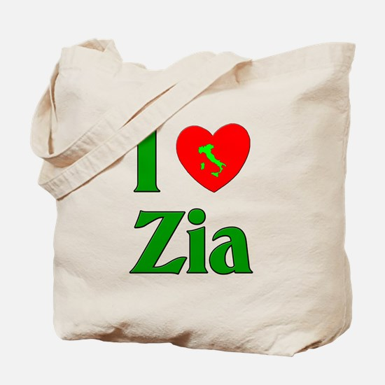 I (heart) Love Zia Tote Bag