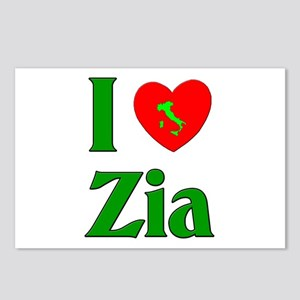 I (heart) Love Zia Postcards (Package of 8)