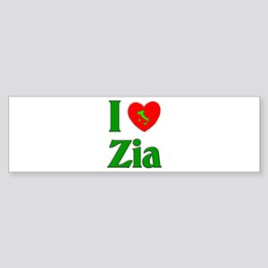 I (heart) Love Zia Bumper Sticker